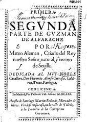 Primera y segunda parte de Guzman de Alfarache