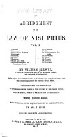 An Abridgement of the Law of Nisi Prius     PDF