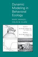 Dynamic Modeling in Behavioral Ecology PDF
