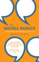 The Quotable Manager PDF