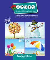 Spots for MATH - Teacher's Edition - Grade 1, Volume 2