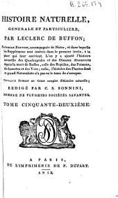 Histoire naturelle generale et particuliere: Volume52
