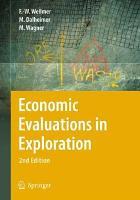 Economic Evaluations in Exploration PDF