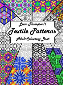 Download Liam Thompson s Textile Patterns Adult Colouring Book Book