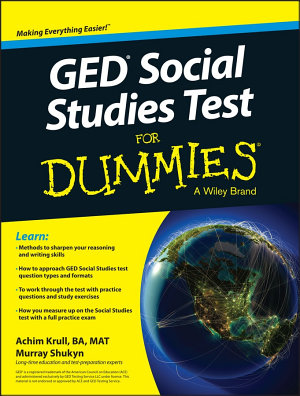 GED Social Studies For Dummies PDF