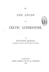 On the Study of Celtic Literature