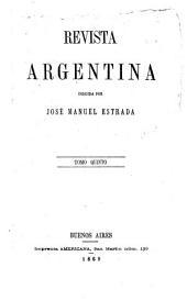 Revista argentina: Volumen 5