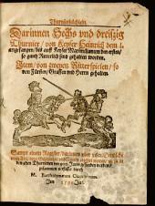 Thurnierbüchlein von Keyser Heinrich I. ... bis auf Maximilianum I. 1487