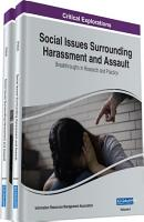 Social Issues Surrounding Harassment and Assault  Breakthroughs in Research and Practice PDF
