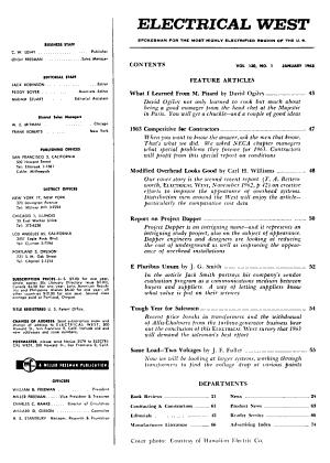 Electrical West PDF