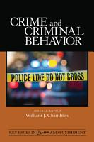 Crime and Criminal Behavior PDF