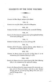 Collins's Peerage of England; Genealogical, Biographical, and Historical: Volume 1