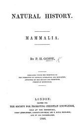 Natural History: Mammalia