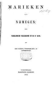 Marieken van Nijmegen: eene Nederlandsche volkslegende uit de 16e eeuw