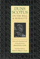 Duns Scotus on the Will and Morality PDF