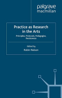 Practice as Research in the Arts PDF