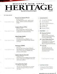 Western New York Heritage PDF