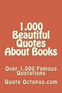 1,000 Beautiful Quotes about Books