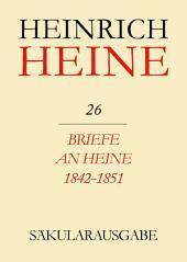 Briefe an Heine 1842-1851