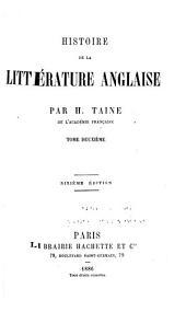 Histoire de la littérature anglaise: Volume2