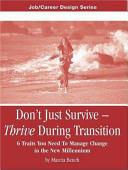 Don t Just Survive