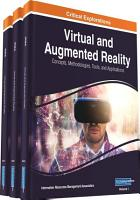 Virtual and Augmented Reality  Concepts  Methodologies  Tools  and Applications PDF