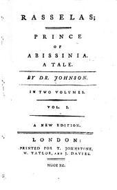 Rasselas; Prince of Abissinia: A Tale
