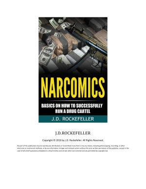 Narcomics  Basics on How to Successfully Run a Drug Cartel