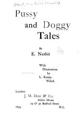Pussy and Doggy Tales