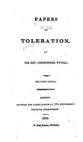 Papers on Toleration