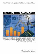 Medien und   konomie PDF