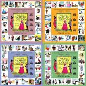09 - The Real Mother Goose, 4-Volume Set (Traditional Chinese Hanyu Pinyin with IPA): 真鵝媽媽(四冊)(繁體漢語拼音加音標)