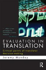 Evaluation in Translation PDF