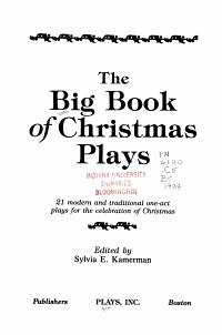 The Big Book of Christmas Plays