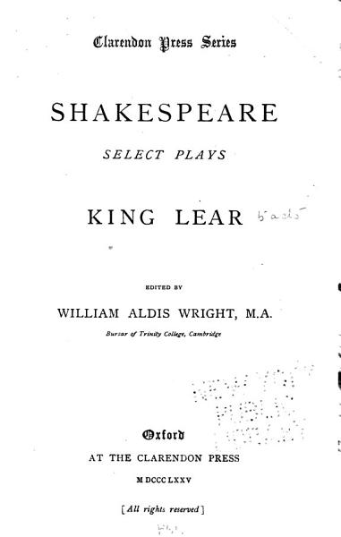 Download King Lear Book