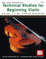 Technical Studies for Beginning Violin Lesson 1 PDF