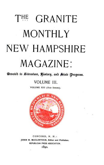The Granite Monthly PDF