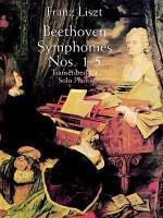 Beethoven symphonies nos. 1-5