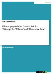 """Filmpropaganda im Dritten Reich - """"Triumpf des Willens"""" und """"Der ewige Jude"""""""