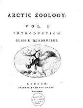 Arctic Zoology: Volume 1