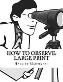How to Observe  Large Print PDF