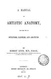 A manual of artistic anatomy