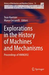 Explorations in the History of Machines and Mechanisms: Proceedings of HMM2012