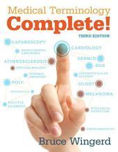 Medical Terminology Complete! epub: Edition 3