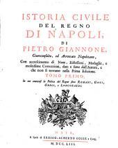 Istoria civile del regno di Napoli