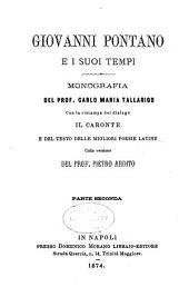 Giovanni Pontano e i suoi tempi: Volume 2