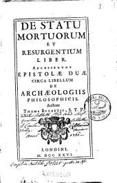 De statu mortuorum et resurgentium liber