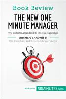 Book Review  The New One Minute Manager by Kenneth Blanchard and Spencer Johnson PDF