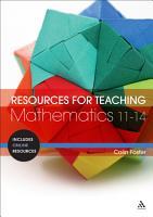 Resources for Teaching Mathematics  11 14 PDF