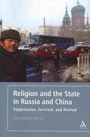 Religion and the State in Russia and China PDF